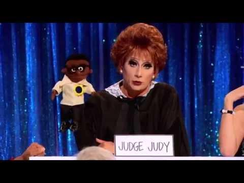 Bianca Del Rio as Judge Judy in Season 6's Snatch Game