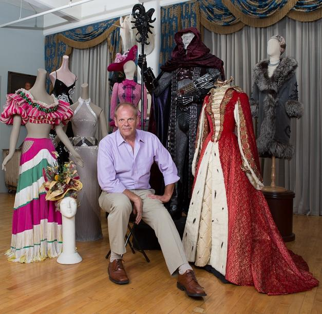 Larry McQueen with pieces from The Collection of Motion Picture Costume Design
