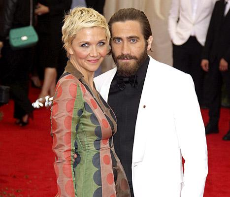 Maggie and Jake Gyllenhaal at the 2014 Met Ball