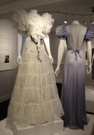 1930s gowns inspired by Adrian's designs for 1932's Letty Lynton (photo: Katherine Craig)