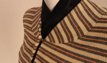 Detail of 1940s Adrian suit (photo: Allison Moorman)