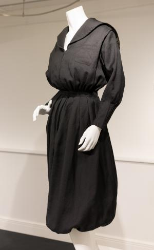 Wool women's gym suit (possibly a reproduction of late 19th century attire)