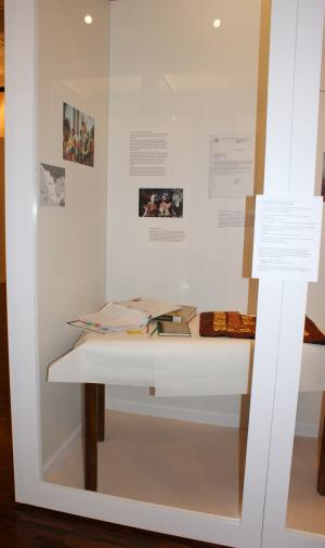 Frist exhibition section.