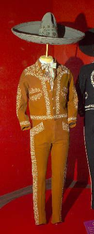 """Built out legs and dressed all male mannequins for """"¡Flamenco!"""" exhibit (2003).  Also conducted research on the 1930s Chicago Latin dance scene."""